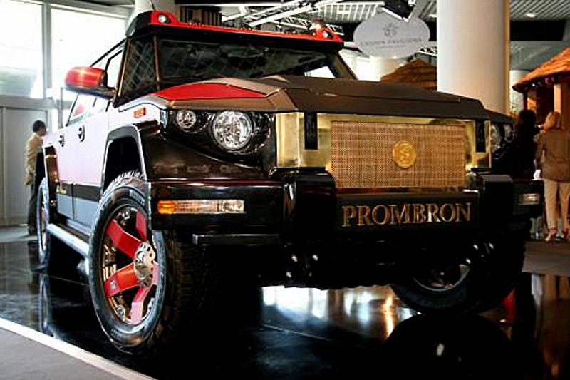 Канье Уэст купил два бронированных джипа Dartz Motorz за ,5 млн