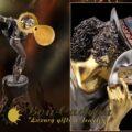 Майкл Джексон увековечен в золотой статуэтке