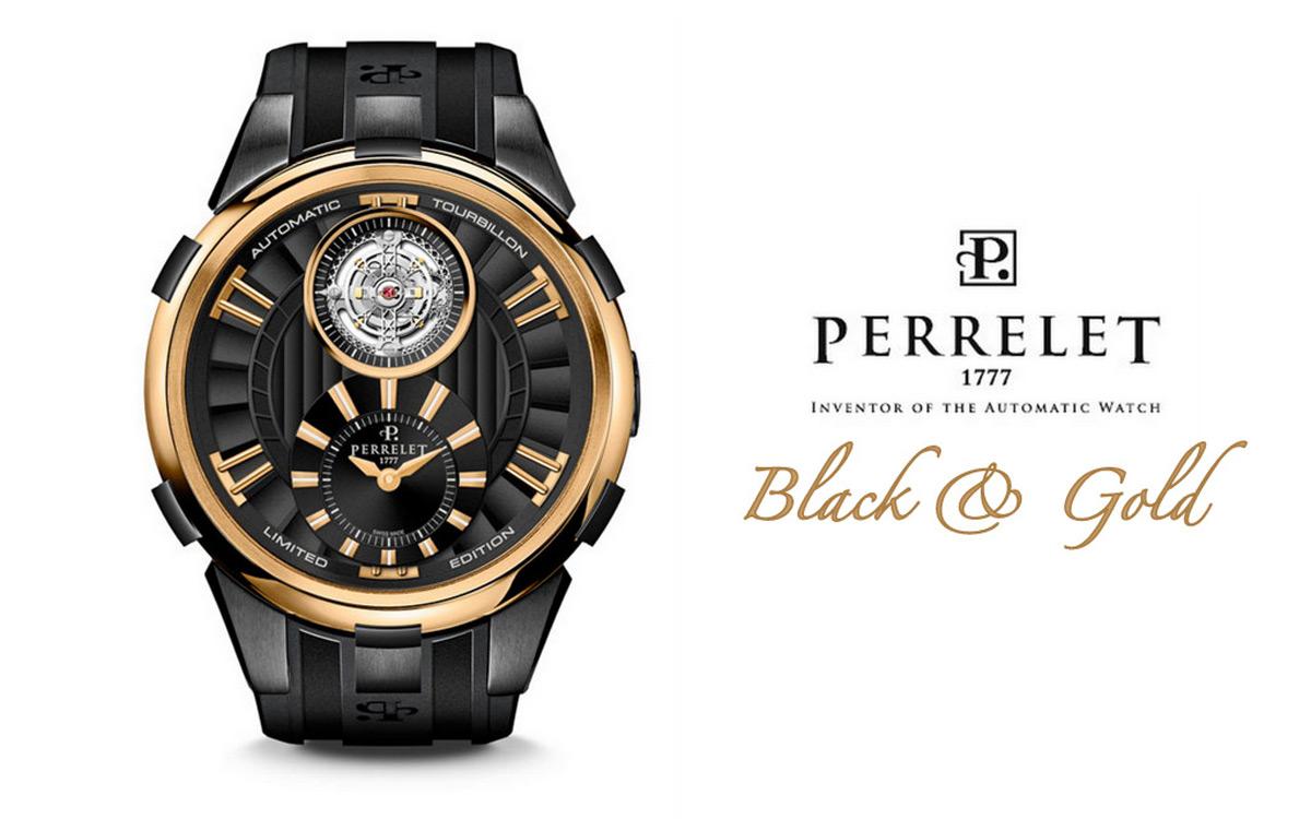 Лимитированные часы Black & Gold Limited Edition от Perrelet