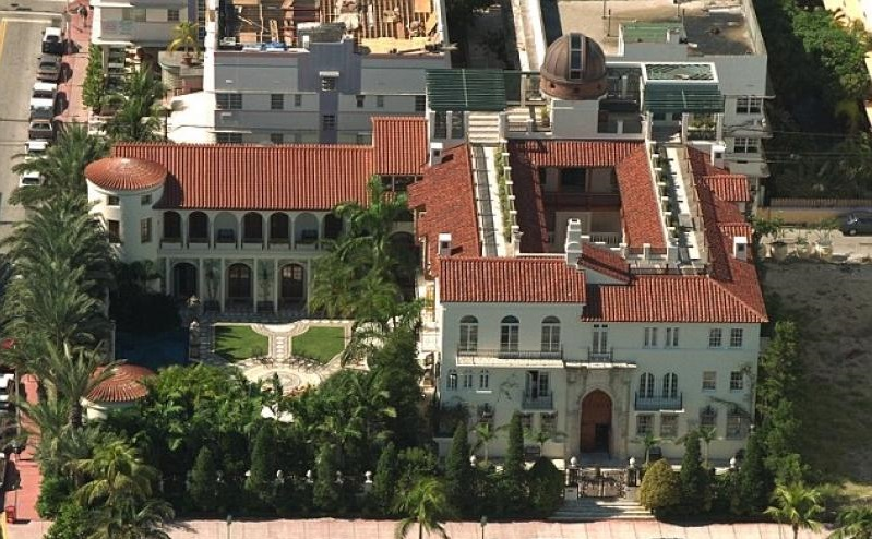 Versace house in Miami