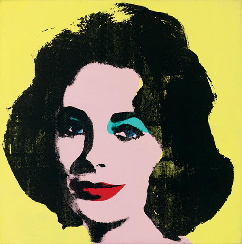 Andy Warhol's Liz #1