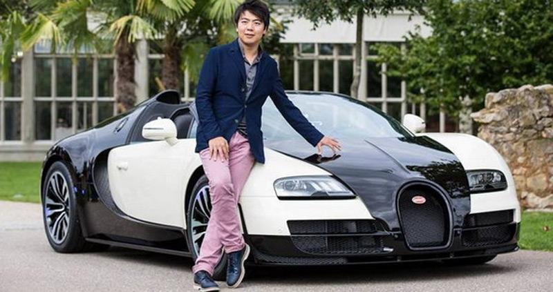 Особый Bugatti Veyron Grand Sport Vitesse в честь пианиста Лан Лана