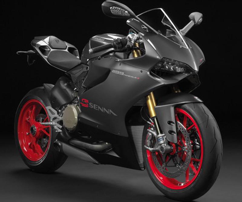 Ducati представил мотобайк 1199 Panigale S в честь Айртона Сенны