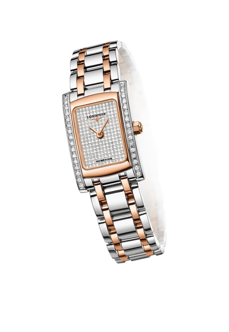 Бриллиантовые женские часы DolceVita от Longines