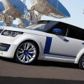 Шикарный Lumma Range Rover CLR R White and Blue Edition