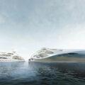 Заха Хадид разработала проект футуристической яхты