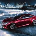 Lexus показал первые снимки концепта RC Coupe
