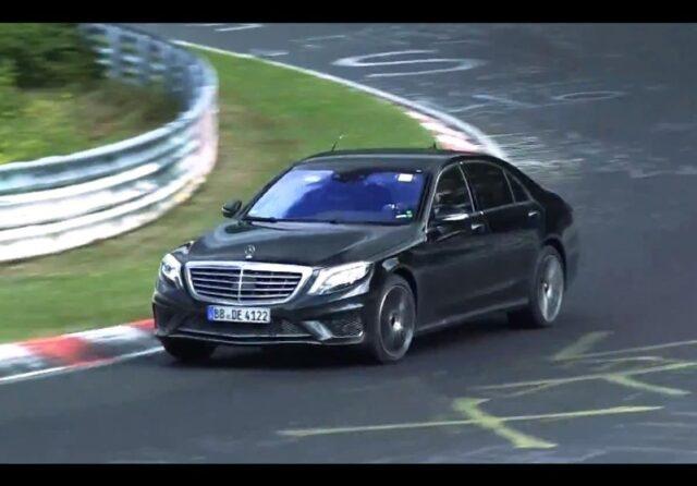Mercedes S AMG 3