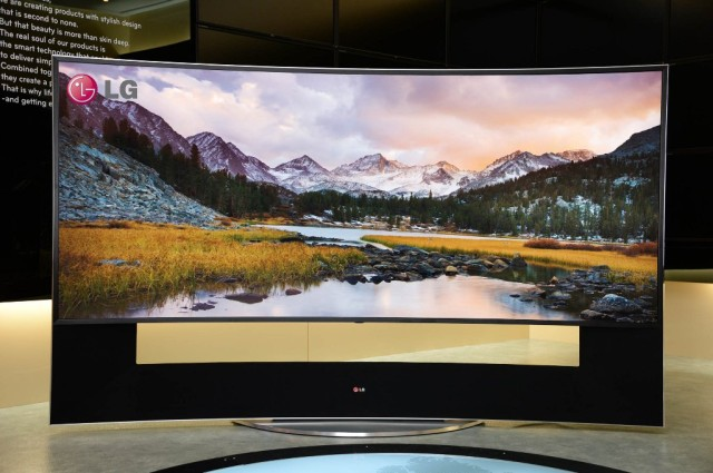 LG Ultra HD TV 105UB9