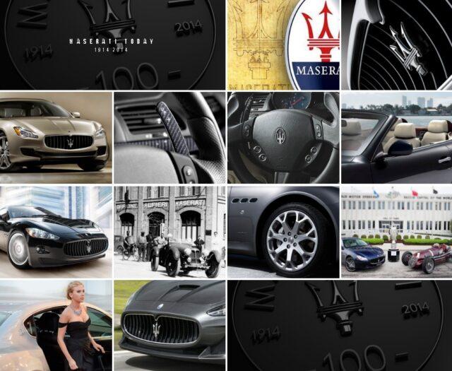 Maserati 100 years 2