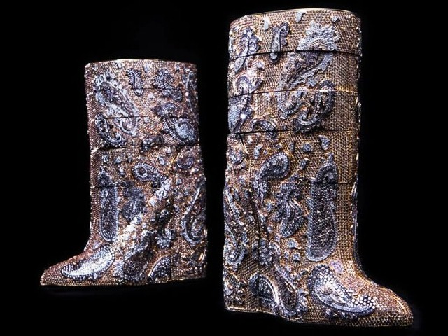 Most expensive boots are diamond studded by Vandevorst cost 3.1 mn dollars 2