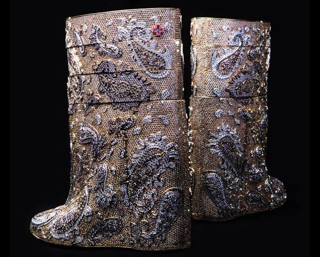 Most expensive boots are diamond studded by Vandevorst cost 3.1 mn dollars 3