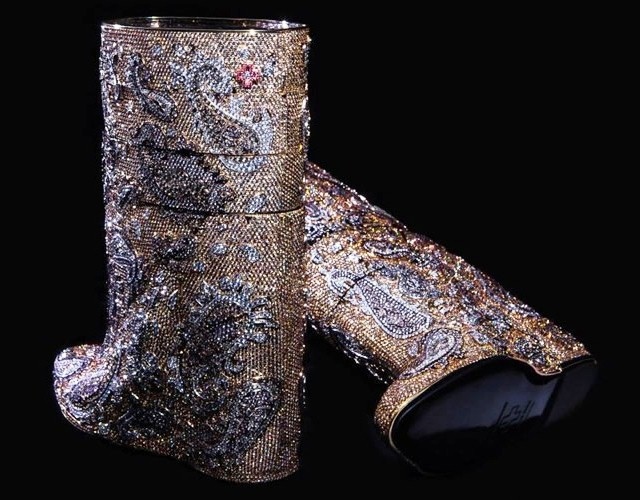 Most expensive boots are diamond studded by Vandevorst cost 3.1 mn dollars 4