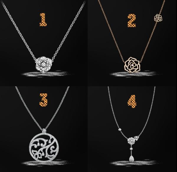 Piaget Christmas pendants 2