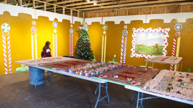 World's Largest Gingerbread House in Texas