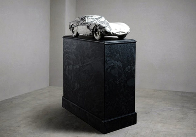 Replica of the Ferrari 250 GTO Made from Marble for a Cool $50,000