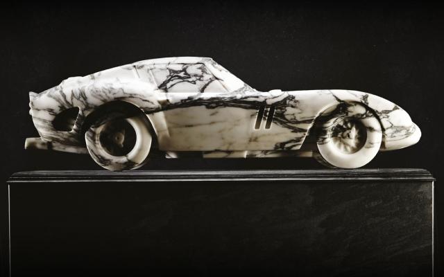 Marble Ferrari GTO