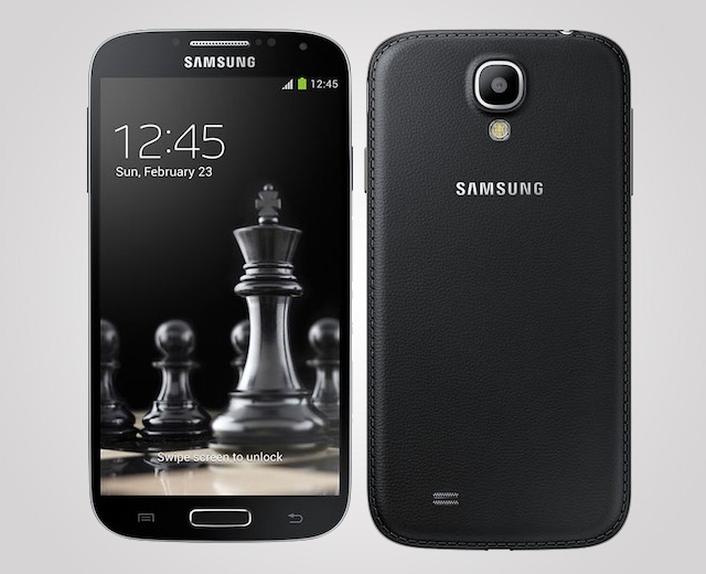 Samsung Galaxy S4 Leather