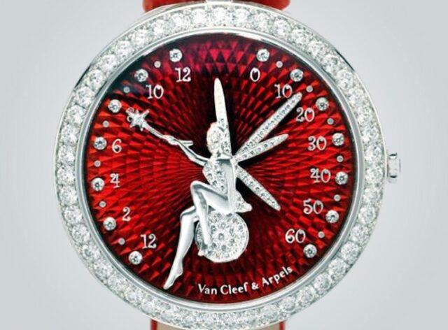 Ювелирные часы Lady Arpels Féerie Rouge от Van Cleef & Arpels