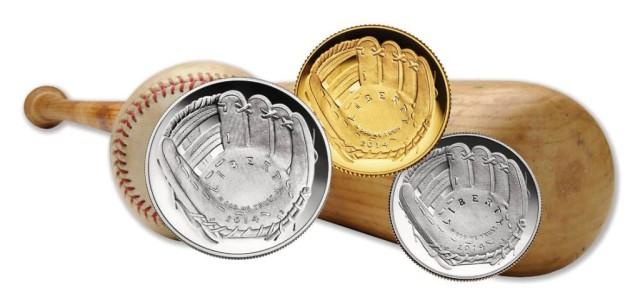2014 National Baseball Hall of Fame Commemorative Coins 2