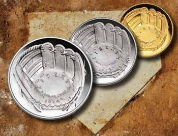 2014 National Baseball Hall of Fame Commemorative Coins