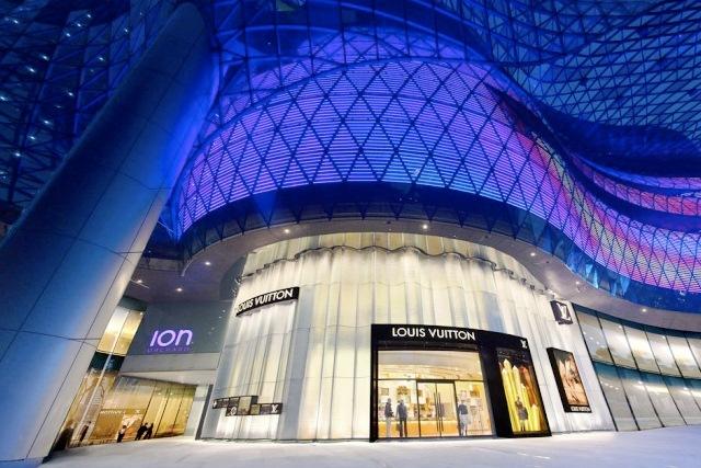 Boutiq Louis Vuitton in Singapore