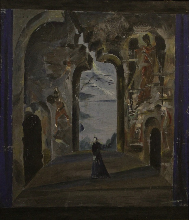 Гроза (1934). Декорация IV действия
