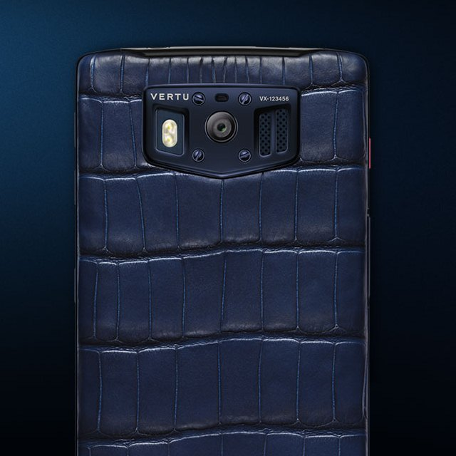 Vertu Constellation Pure Navy Alligator and Pure Plum Alligator 4