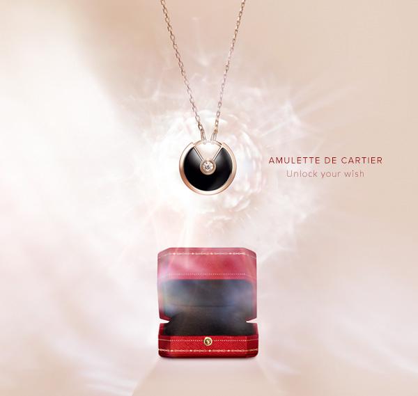 Колье Amulette de Cartier