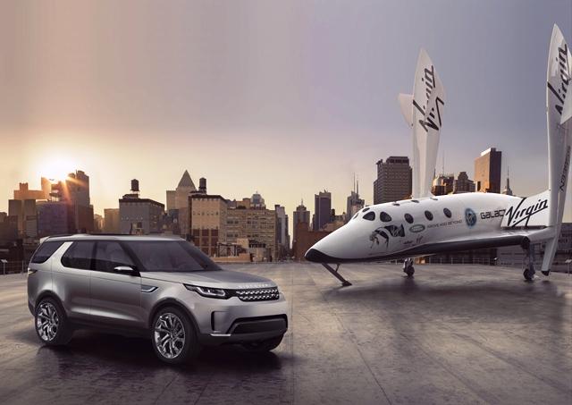 Land Rover подвезет космонавтов Virgin Galactic