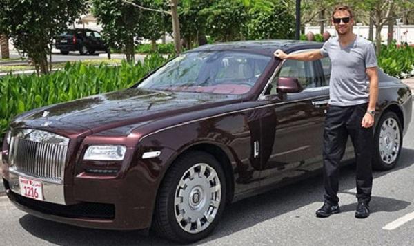 Дженсон Баттон стал послом марки Rolls-Royce