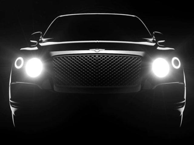 Bentley SUV открыл «глаза»