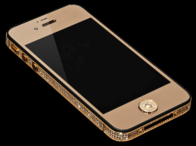 Million dollar iPhone by Alchemist London