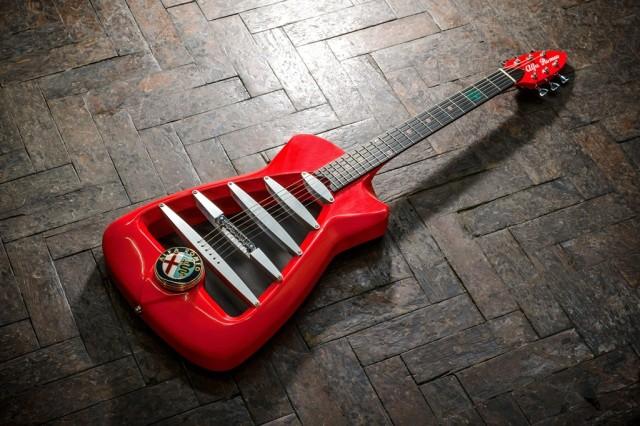 Alfa Romeo MiTo Marshall concept Photograph: James Lipman // jameslipman.com