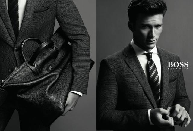 Hugo Boss Menswear Fall Winter 2014 Campaign