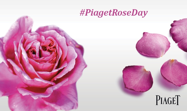 Piaget Rose Day 2014