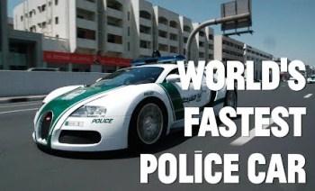 Worlds Fastest Police Cars Dubai