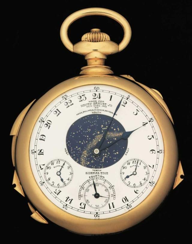 Самые дорогие часы Patek Philippe уйдут с молотка