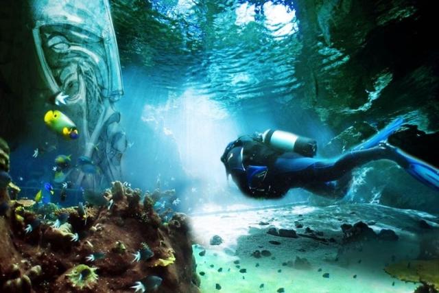 Крупнейший в мире подводный парк развлечений