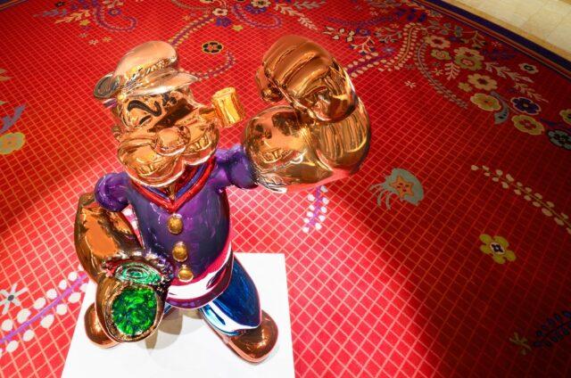 Моряк Попай увековечен в статуе за $28 млн