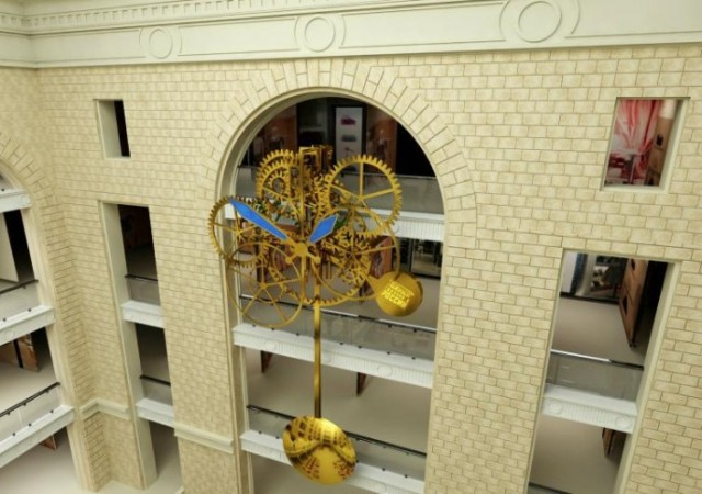 Raketa Moscow clock 2
