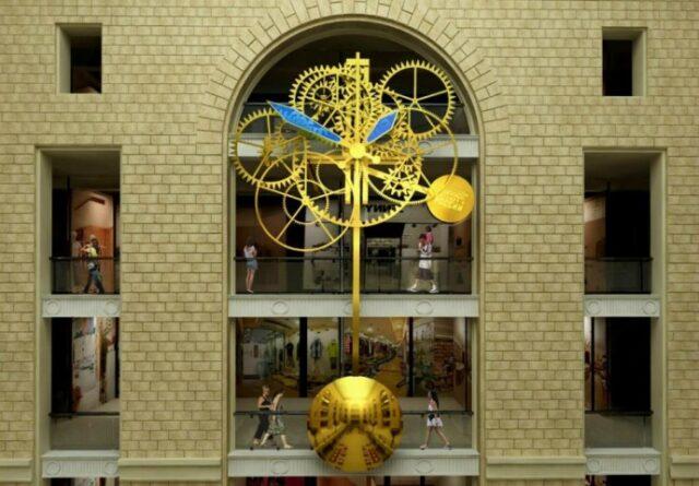 Raketa Moscow clock