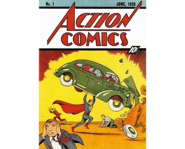 Первое издание Action Comics с Суперменом поставило мировой рекорд на eBay