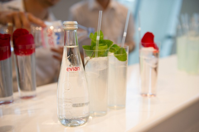 Evian cocktails