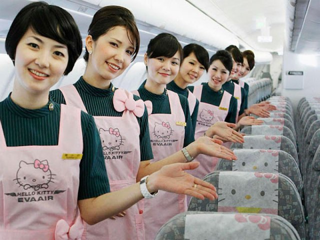 Hello Kitty aircraft 2