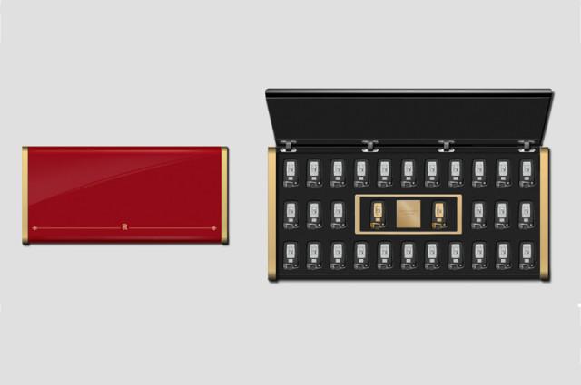 Ключи от 30 автомобилей Rolls-Royce Phantom, транспортный парк отеля LOUIS XIII