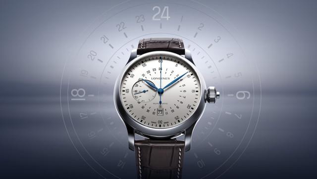 Новый хронограф от Longines - Twenty-Four Hours Single Push-Piece Chronograph
