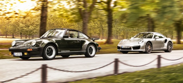 Porsche - 40 years 911 Turbo
