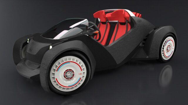 STRATI — первый автомобиль из 3D-принтера