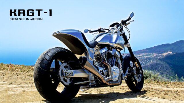 Киану Ривз и Гард Холлингер выпустили мотоцикл Arch KRGT-1